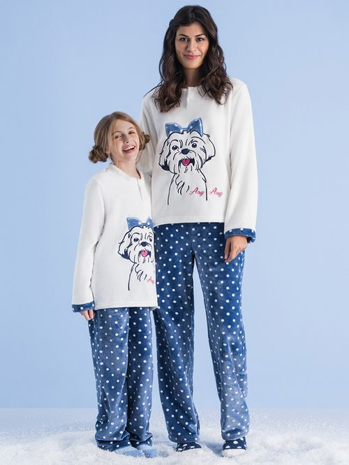 Pijama Soft Infantil Dot Lhasa