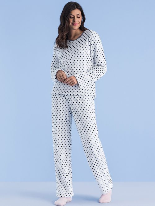 Pijama Soft Dots Lana