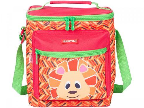 Lancheira Infantil Escolar Sestini 19Y - Kids Lion