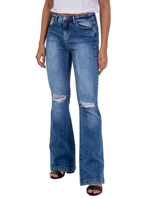 Calça Jeans Flare Nadia